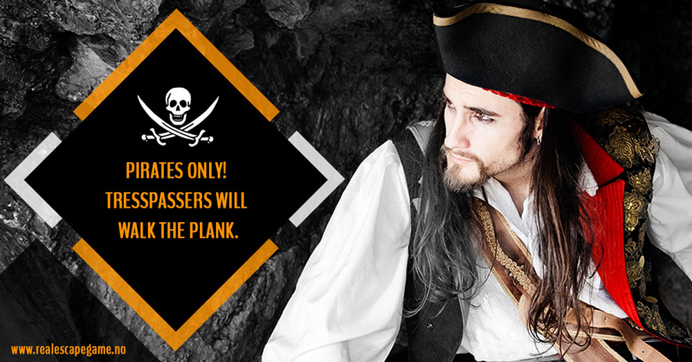 Pirate escape room Stavanger